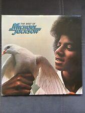 "Michael Jackson 12"" LP "" THE BEST OF MJ "" PROMO SAMPLE - Rare KOREA ! M5-194 V1"