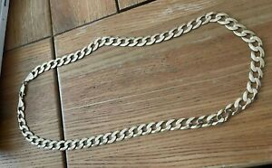 Heavy 9ct Gold Chain / Necklace  Not Scrap See Pics