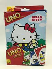 UNO Hello Kitty Card Game 112 Cards in Tin Box NEW