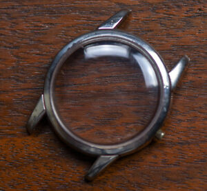 Vintage OMEGA Seamaster Stainless Steel Watch Case NO BACK NO REFERENCE