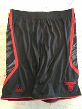 Adidas Swingman NBA Shorts Chicago Bulls Team Black Stacked sz 2X
