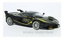 #16907 - Bburago Ferrari FXX-K - schwarz/gelb - No.44 - J.Taylor - 1:18