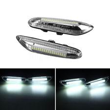 2X Dynamic Side Marker Lights LED Turn Signal Lamp 12V For BMW E46 E60 E82