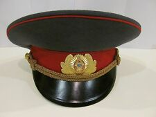 Original Vintage Soviet Russian Police (Militia) Officer's Parade Cap USSR 57
