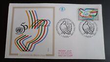 FDC Enveloppe Premier Jour - CEF - Organisation des Nations Unies - 16/11/95 - P