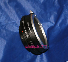 Nikon AI F mount G DX AF-S lens to Samsung NX camera adapter NX1000 NX300 NX11