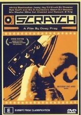 Scratch (DVD, 2003) RARE_HIP HOP DVD (The history of the scratch) doco