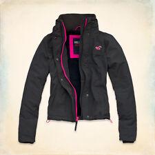 Hollister Women All-Weather Jacket Dark Heather Grey XS BNIB*