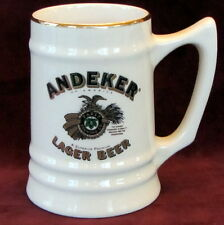 Pabst Blue Ribbon Brewing Lager Beer Andeker of America Ceramic Mug Stein