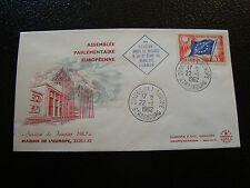 FRANCE - enveloppe 22/1/1962 yt service n° 20 (cy19) french