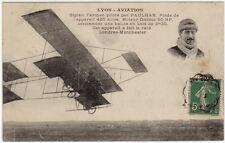 CPA -69- LYON - AVIATION - Biplan Farman piloté par PAULHAN.