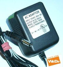 AC ADADPTOR SCP35-90300 9VDC 300mA CLASS 2 TRANSFORMER USA PLUG
