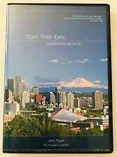 John Piper DVD 2 Messages Open Their Eyes & Doing What Only God Can Do 2005