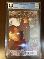 Invincible Iron Man #1 (Marvel Comics, 2015) CGC 9.8