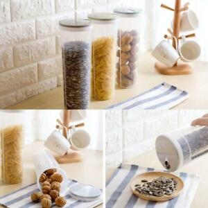 Spaghetti Noodle Clear Plastic Storage Box Food Storage Bottle Container BEST