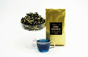 Butterfly Blue Pea Blue Tea Clitoria Ternatea Blossom Herbal Tea