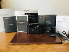 LEICA M8.2 BLACK PAINT CCD SERVICED BY LEICA BOXED no M9 MONOCHROM