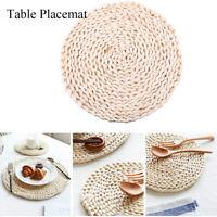 Hot Table Mat Heat Insulation Pot Holder Round Cup Coasters Drink Tea Mug Pad