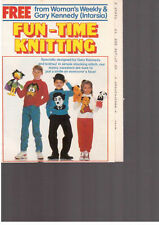 fun time knitting from woman's weekly children's vintage characters sweaters