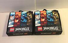 2 Lego Ninjago Battle Arena Cases Masters Of The Spinjitzu Case