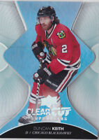 17-18 Upper Deck Duncan Keith Clear Cut Superstars Blackhawks Clearcut 2017