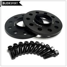 5x112 Hub Centric Wheel Spacers for Mercedes W211 W212 W220 W221 2X8mm + Bolts