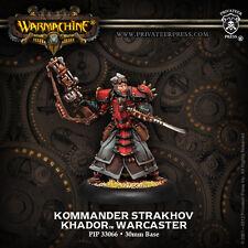 WARMACHINE PIP33066 - KHADOR KOMMANDER STRAKHOV - BNIP