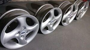 """Borbet Ford OEM 16"""" alloys 4x108 Citroen Audi Ford Mazda Volvo retro cult ori"""