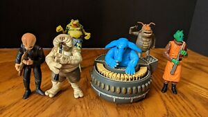 Max Rebo Band Pairs POTF Complete Set Barquin Droopy Doda Joh Sy Kenner 1998