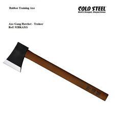 Cold Steel Axe Gang Hatchet Training Axe Heavy Grade High Impact Polypropylene