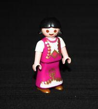 Playmobil princesses princesse fillette robe rose 4645