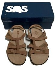 SAS Women's Shoes Sorrento Sandal Praline 6.5 W Wide New In Box