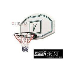OFFERTA!! SCHIAVI Tabellone BASKET PP COMPOSITE USA - Mis.111x72cm x ESTERNO