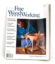 Taunton's Fine Wood Working WOODWORKING Magazine 1999 Issue 135 CHIP'NDALE STOOL