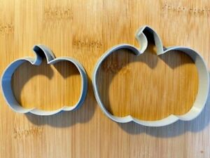 Set of 2 x PUMPKIN - HALLOWEEN Cookie or Fondant Cutters Sugarcraft Icing Cake