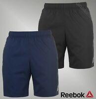 Mens Genuine Reebok Lightweight Block Colour Workout Shorts Bottoms Size S-XXL