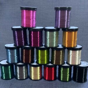 Coloured Copper Craft Wire 0.315/50m reel. Scientific Wire UK SHOP FAST DISPATCH