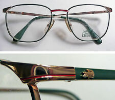 Lacoste Lamy Made in France occhiali vintage frame eyeglasses 1980's NOS