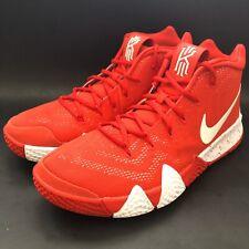 """Nike Kyrie 4 TB """"University Red"""" Basketball Shoes (AV2296-600) Men's Size 12"""