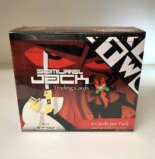 Samurai Jack - Sealed Trading Card Hobby Box - Cartoon Network, ArtBox 2002