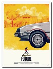 "Back To The Future 1 12""x8"" Classic Movie Silk Poster For Home Shop Art Print"