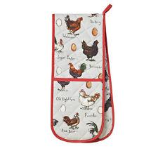 Double Oven Glove Chicken and Egg Madeleine Floyd