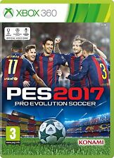Pro Evolution Soccer 2017 (Xbox 360) [New Game]