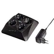 Hama Quad Docking Ladegerät Netzteil für PS3 PS4 PS VR Move Sub Controller