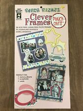 Hot Off The Press~Paper Pizazz~Clever Frames Book~Punch Outs