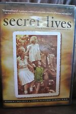 SECRET LIVES Hidden Children and Their Rescuers During WWII DVD 2004 Slesin RARE