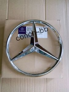FRONT GRILLE CHROME STAR BADGE for MERCEDES E Class W207 2009-13 Coupe Cabriolet
