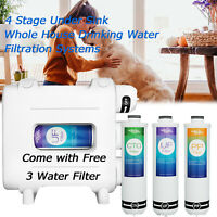 Whole House Water Filter – 3 Stage Under Sink Whole House Water Filter System
