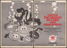 The SNORKS are Coming__Original 1987 Trade AD / TV promo / poster__HANNA-BARBERA