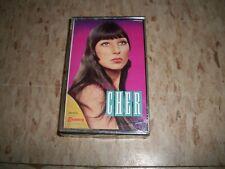 CHER The Best of Cher SEALED tape Cassette RARE!! 1980s